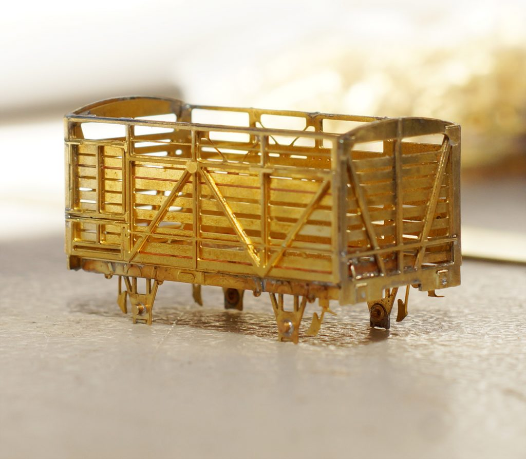 Brass CW car