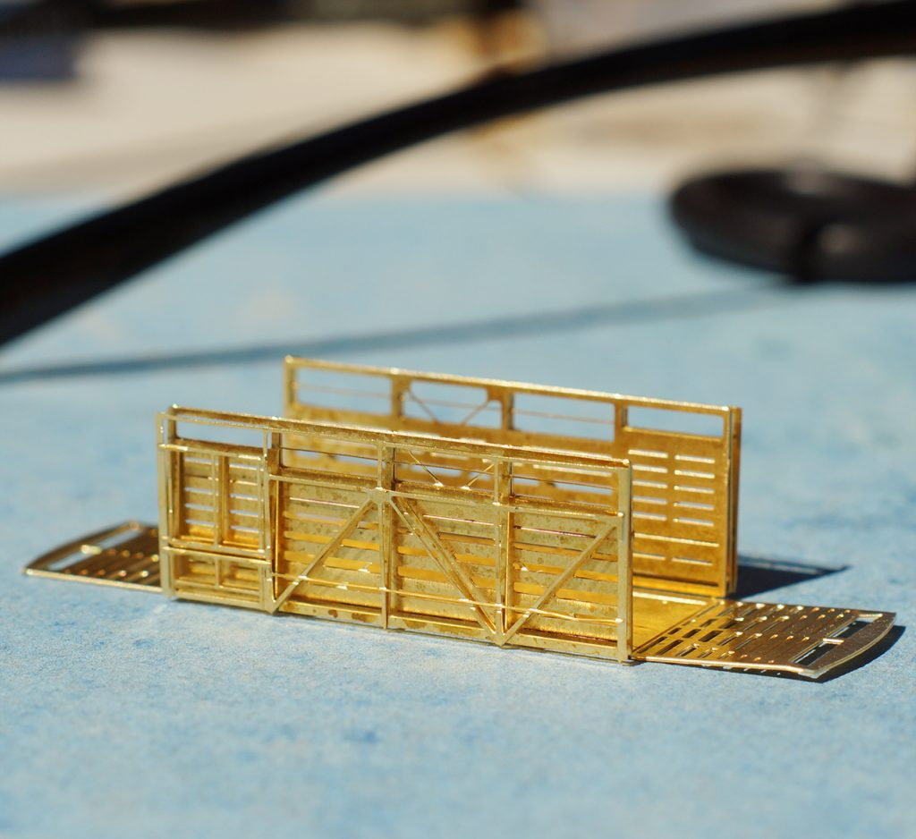 Brass etching